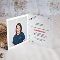 Carte invitation anniversaire 20 ans Cirque, 25 ans, Vernis 3D, double pas cher