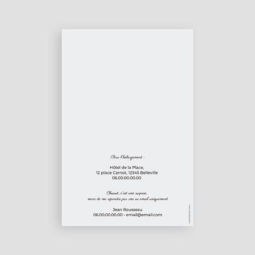 Carte invitation anniversaire 60 ans Chiffres 60 et +, 10 x 15 cm pas cher