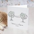 Faire-Part Mariage Nature Guinguette Arborée