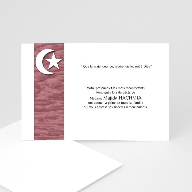 Remerciements Décès Musulman - Etoile et plénitude  8508 thumb
