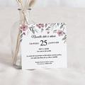 Change The Date Mariage Fleurs romantiques, new date, 10 x 10