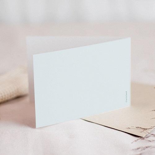 Carte Condoléances Fleurs Bleues, Sincères Condoléances, 10,5 x 15 gratuit