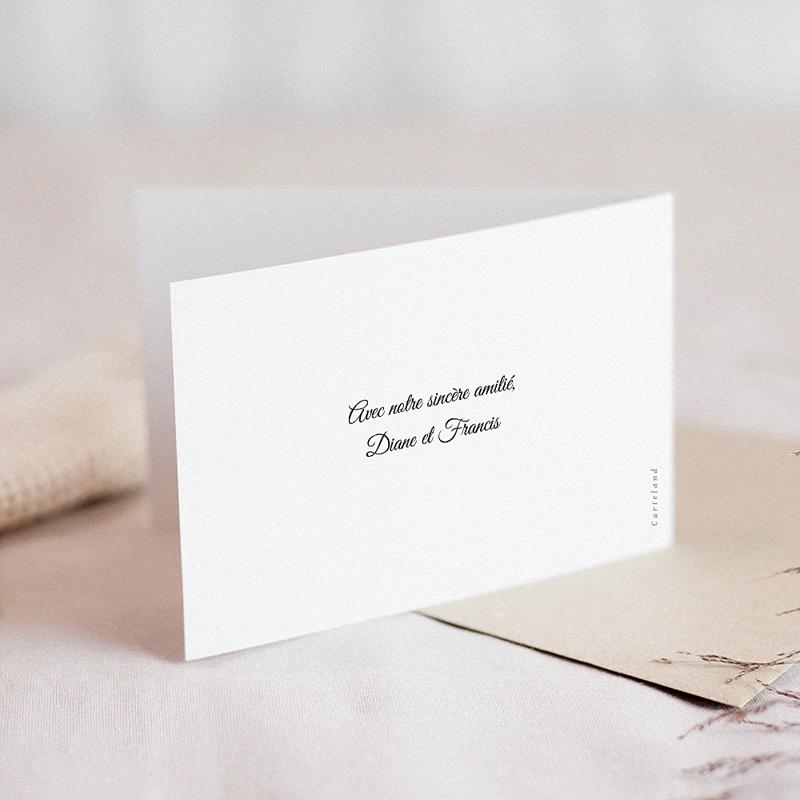 Carte Condoléances Rose Jaune, Affection,15 cm x 10 cm gratuit