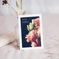 Carte Condoléances Bouquet de roses, 10 cm x 14 cm