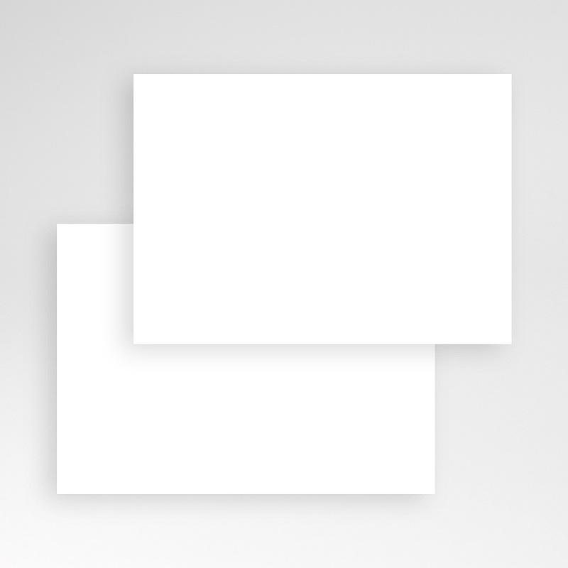 Faire-Part Décès Vierge Rectangle simple, 14 x 10, sur-mesure pas cher
