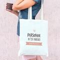 Tote Bag Personnalisé Personne n'est parfait sauf pas cher