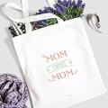 Tote Bag Personnalisé Mom Sweet Mom, Cabas Fourre Tout gratuit