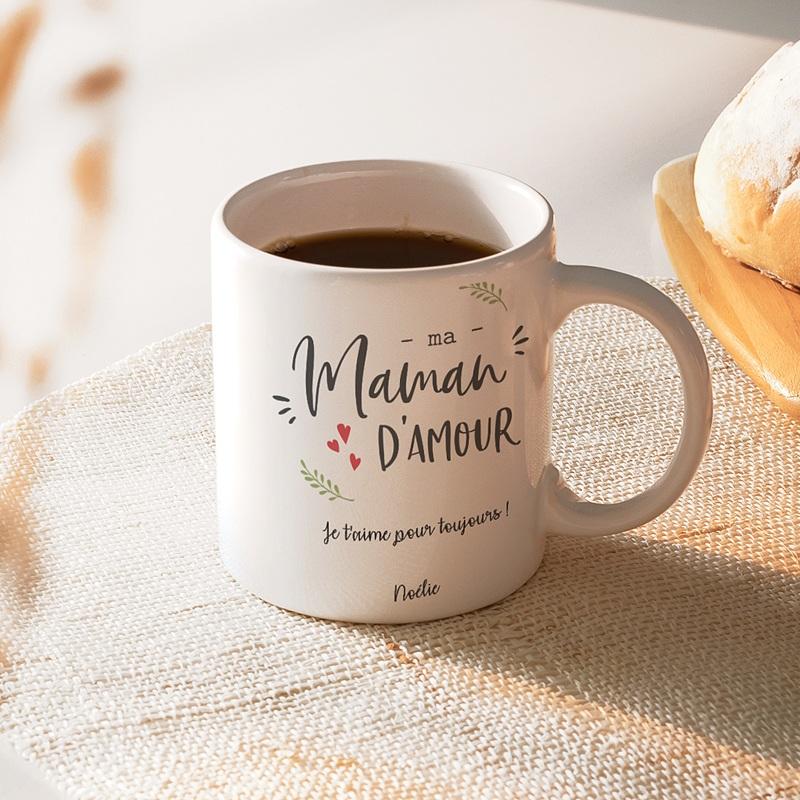 Mug Personnalisé Fête des Mères Maman D'amour