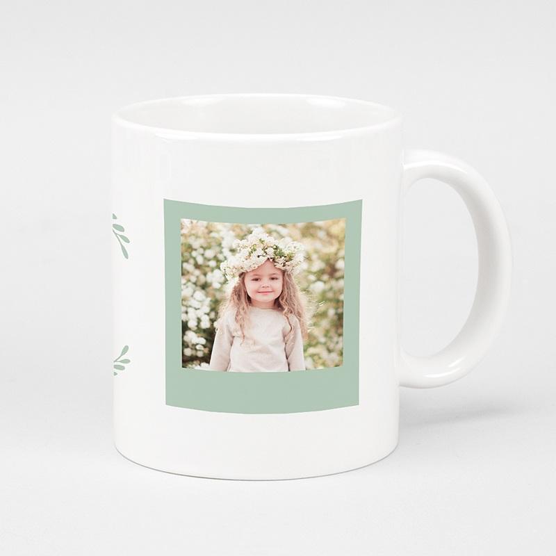 Mug Personnalisé Fête des Mères Love Mom, 2 photos