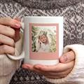 Mug Personnalisé Fête des Mères Love Mom, 2 photos gratuit