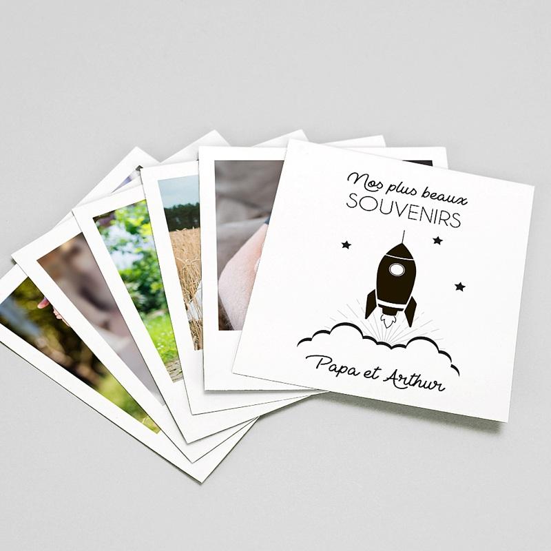 Magnet Photo Souvenirs Photos, lot de 12