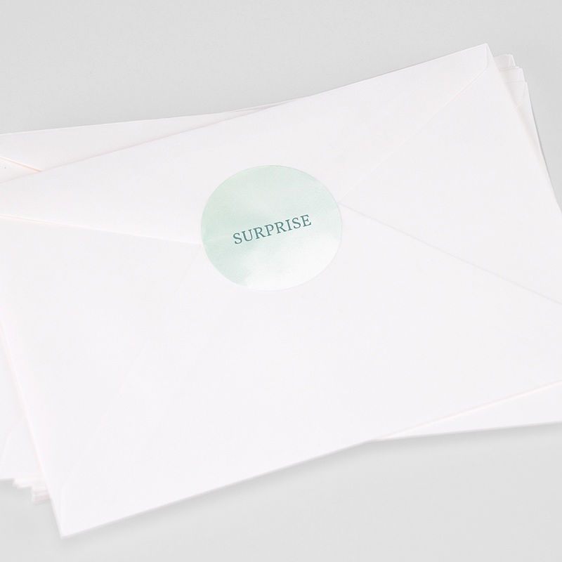 Etiquette Autocollante Naissance Petits Petons, 4,5 cm