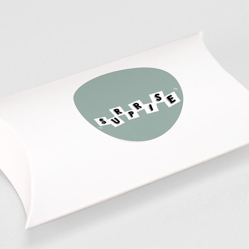 Etiquette Autocollante Naissance Lettres de Bébé, Surprise gratuit