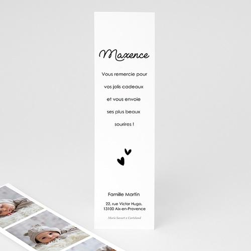 Remerciement Naissance Marque Page Petit Baigneur, 3 Photos pas cher