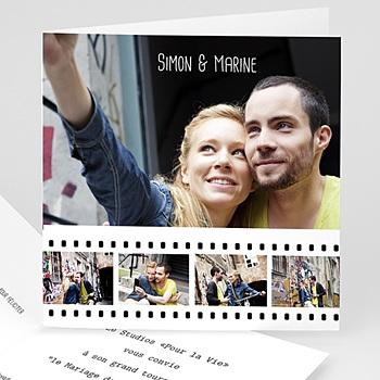 Faire Part Mariage photo - Cinéma et cinéphiles - 3