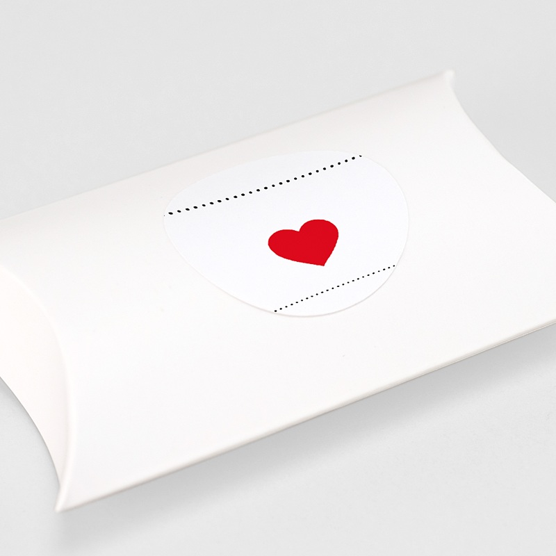 Etiquette Autocollante Naissance Bonheur Magazine, Coeur rouge gratuit