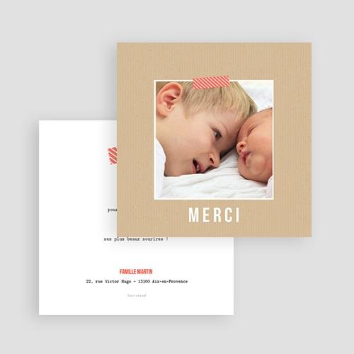 Carte Remerciement Naissance Ticket naissance, Photo gratuit
