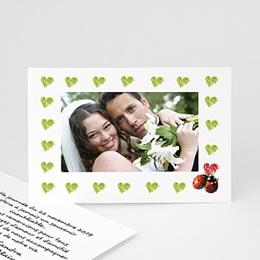 Remerciements Mariage Un amour de coccinelles