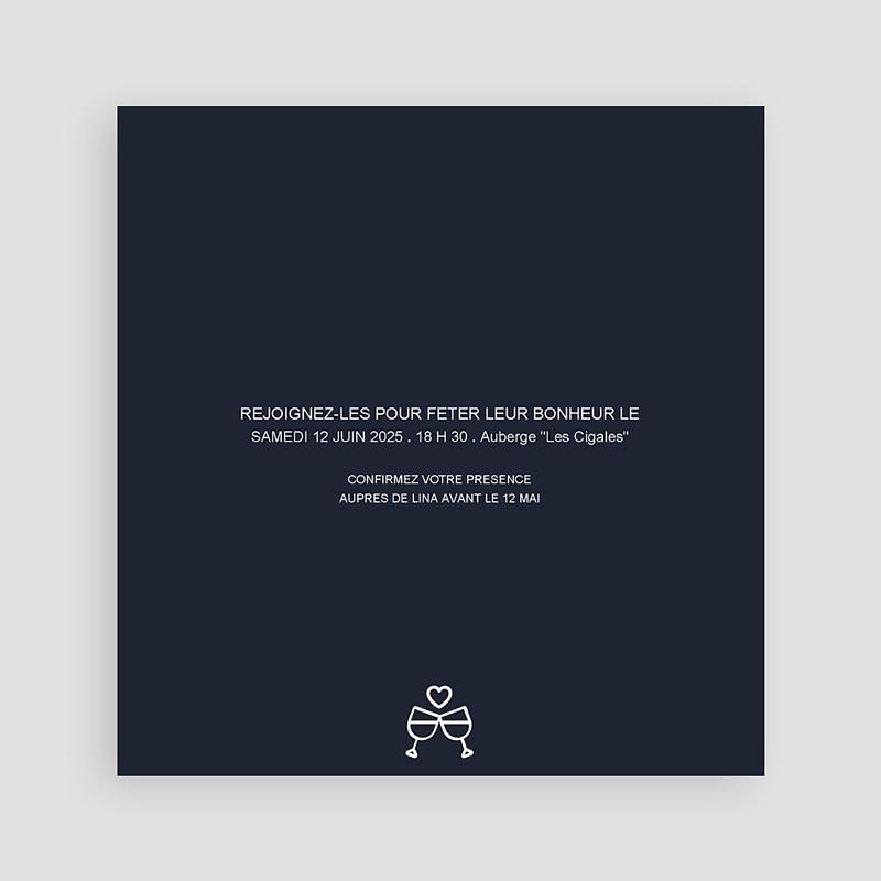 Invitations Anniversaire Mariage - Evénement élégant 8795 thumb