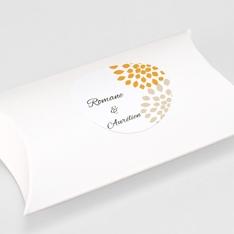 Etiquette Autocollante Mariage Ambiance Provençale, Sticker gratuit
