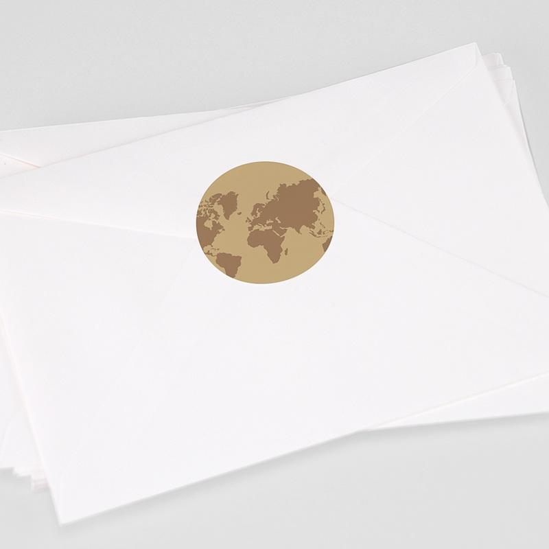 Etiquette Autocollante Mariage Wedding Pass, Sticker