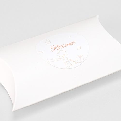 Etiquette Autocollante Naissance Le Petit Prince et sa Rose gratuit