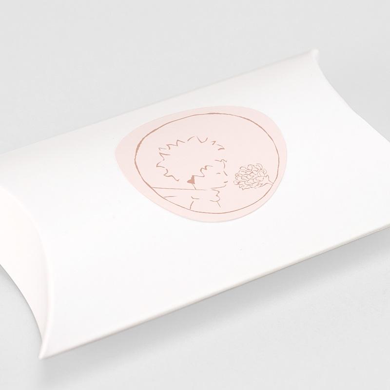 Etiquette Autocollante Naissance La rose du Petit Prince, Sticker gratuit