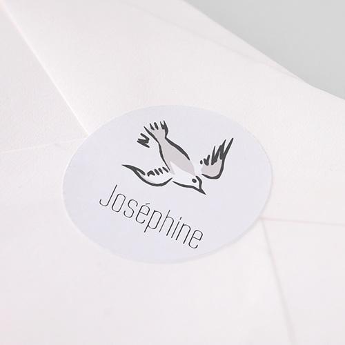 Etiquette Autocollante Naissance L'hirondelle du Petit Prince, Sticker pas cher