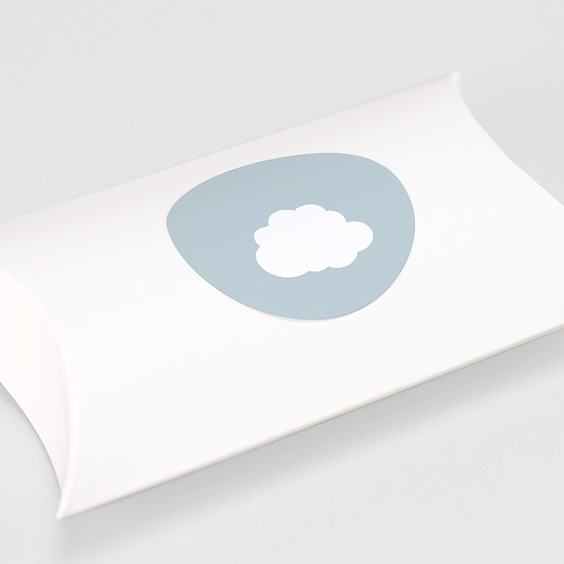 Etiquette Autocollante Naissance Petit Prince en avion, bleu, Sticker gratuit