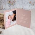 Carte Remerciement Naissance Le Petit Prince Petite Princesse en avion, rose, Photo pas cher