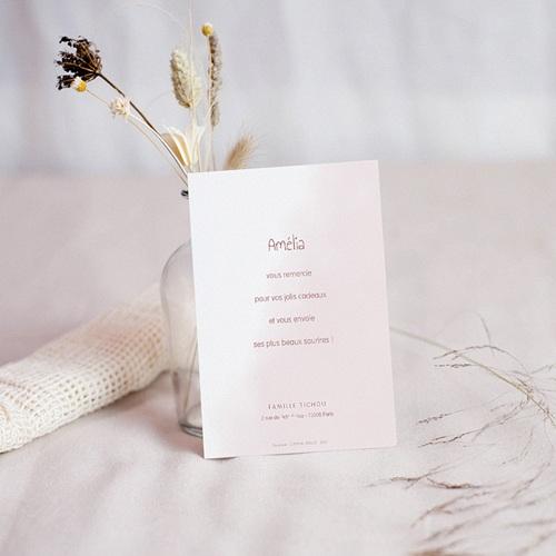Carte Remerciement Naissance Le Petit Prince Dessine-moi une rose, Merci pas cher