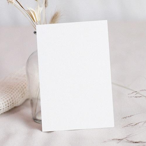 Faire-Part Mariage Personnalisés - 100% Création - 12,7 x 17,7  8886