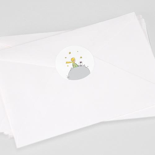 Etiquette Autocollante Naissance Lettre secrète de l'Amour, Sticker