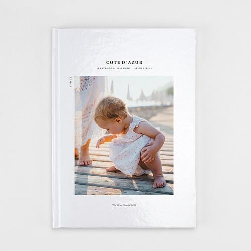 Livre Photo A4 Portrait Séjour Découvertes