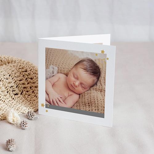 Carte Remerciement Naissance Baby Boy, portofolio, 4 photos