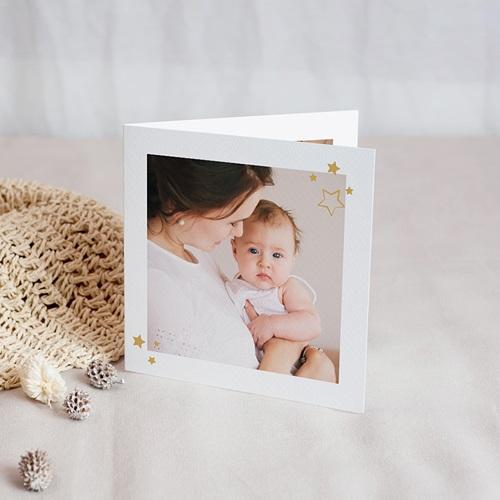 Carte Remerciement Naissance Baby Girl, portofolio, 4 photos