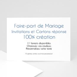Faire-Part Mariage Personnalisés - 100% Création - 3