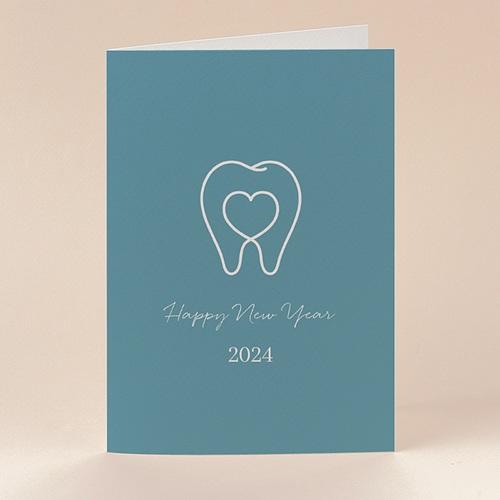 Carte de Voeux Chirurgien Dentiste, Stomatologue