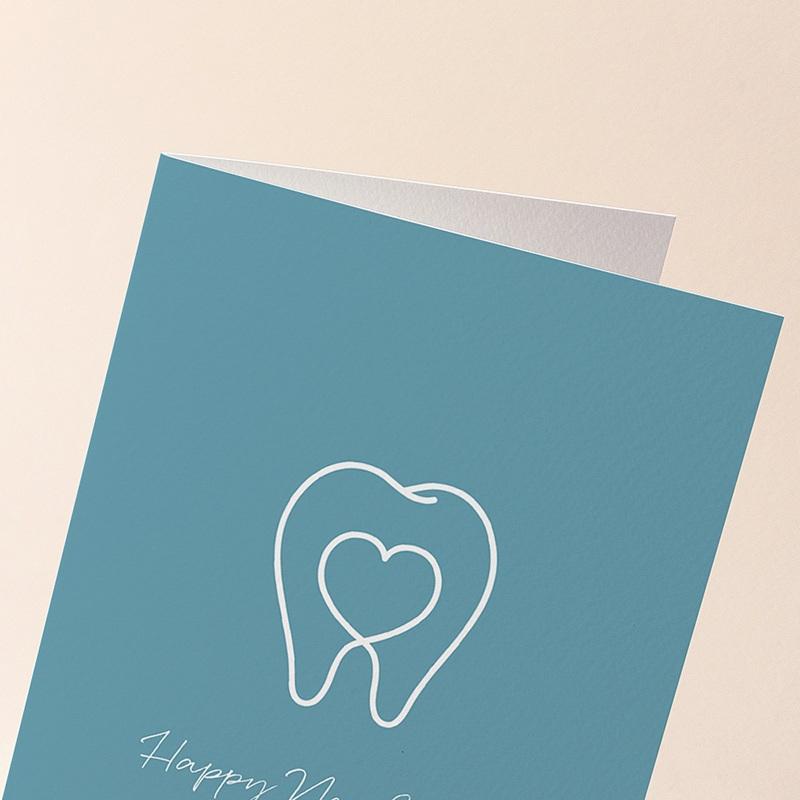 Carte de Voeux Chirurgien Dentiste, Stomatologue gratuit
