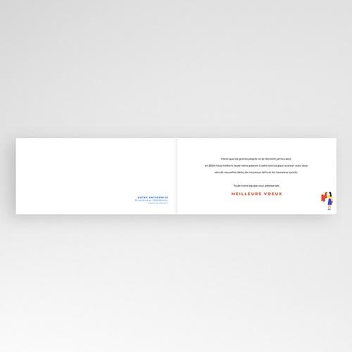 Carte de Voeux Entreprise Corporate, Bâtiment, Isométrie pas cher