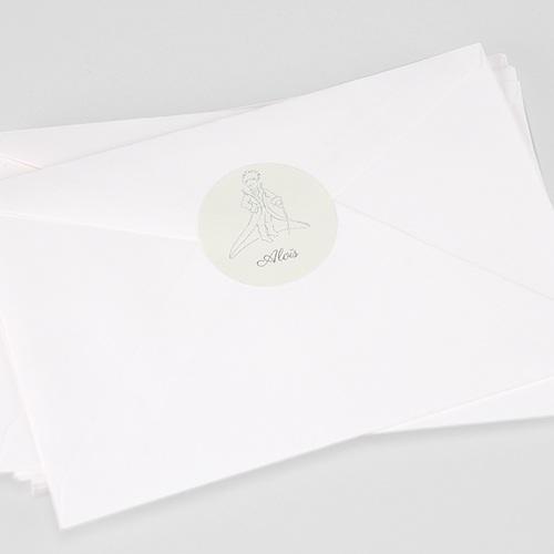 Etiquette Autocollante Naissance Sa majesté Le Petit Prince, Sticker