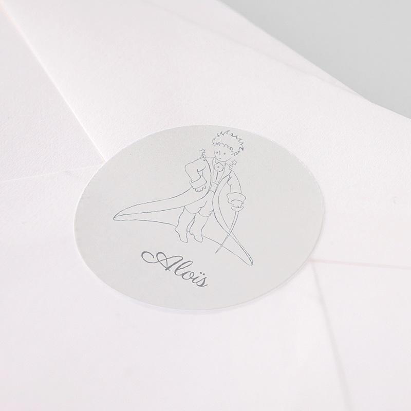 Etiquette Autocollante Naissance Sa majesté Le Petit Prince, Sticker pas cher