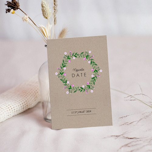 Change The Date Mariage Nature en Fête, Nouvelle Date