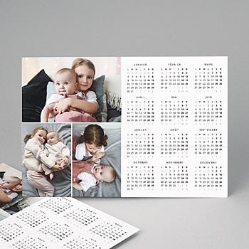 Calendrier Monopage 2020 - Calendrier  multicolor - 4