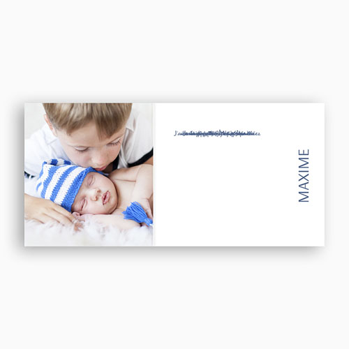 Faire-Part Naissance Garçon - Un joli petit garçon 9016 preview