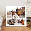 Cadre Photo Personnalisé 3 photos Arc-en-Ciel