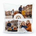 Coussin Personnalisé Photo Rainbow Wish, 3 photos