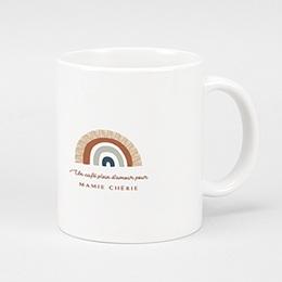 Mug Personnalisé Noël - Rainbow Wish, Tasse - 0