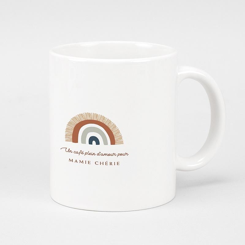 Mug Personnalisé Noël Rainbow Wish, Tasse