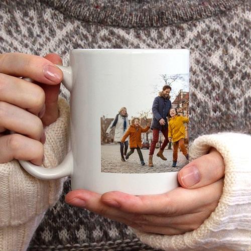 Mug Personnalisé Noël Rainbow Wish, Tasse gratuit